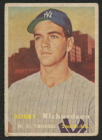 1957 Topps #286 Bobby Richardson RC at PristineAuction.com