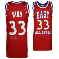 Larry Bird Signed Mitchell & Ness 1993 NBA All-Star Authentic Jersey (Fanatics Hologram) at PristineAuction.com