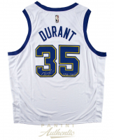 """Kevin Durant Signed LE Golden State Warriors Nike Hardwood Classics Jersey Inscribed """"NBA Champs"""" (Panini COA) at PristineAuction.com"""