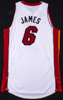 "LeBron James Signed LE Miami Heat Adidas Jersey With ""Back2Back"" NBA Champions Patch (UDA Hologram) at PristineAuction.com"