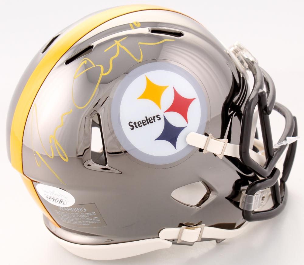 2a04d7879ca Ryan Switzer Signed Pittsburgh Steelers Chrome Speed Mini Helmet (JSA COA)