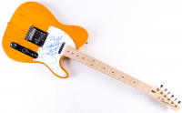 "Garth Brooks Signed 39"" Fender Squier Bullet Electric Guitar Inscribed ""God Bless"" (JSA LOA) at PristineAuction.com"