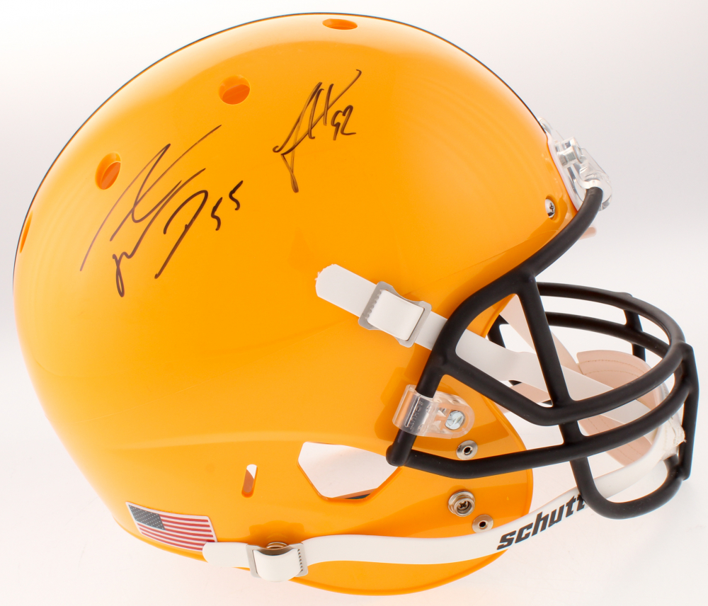 de368fb90 Pittsburgh Steelers Full-Size Helmet Signed by (5) with James Harrison