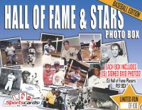 """HALL OF FAME & STARS"" Baseball Mystery Signed Photo Box **15 Per Box!**"