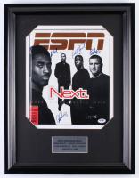 1998 ESPN Magazine 16.5x21.5 Custom Framed Magazine Display Signed by (4) With Kobe Bryant, Eric Lindros, Alex Rodriguez & Kordell Stewart (PSA COA & Steiner COA)