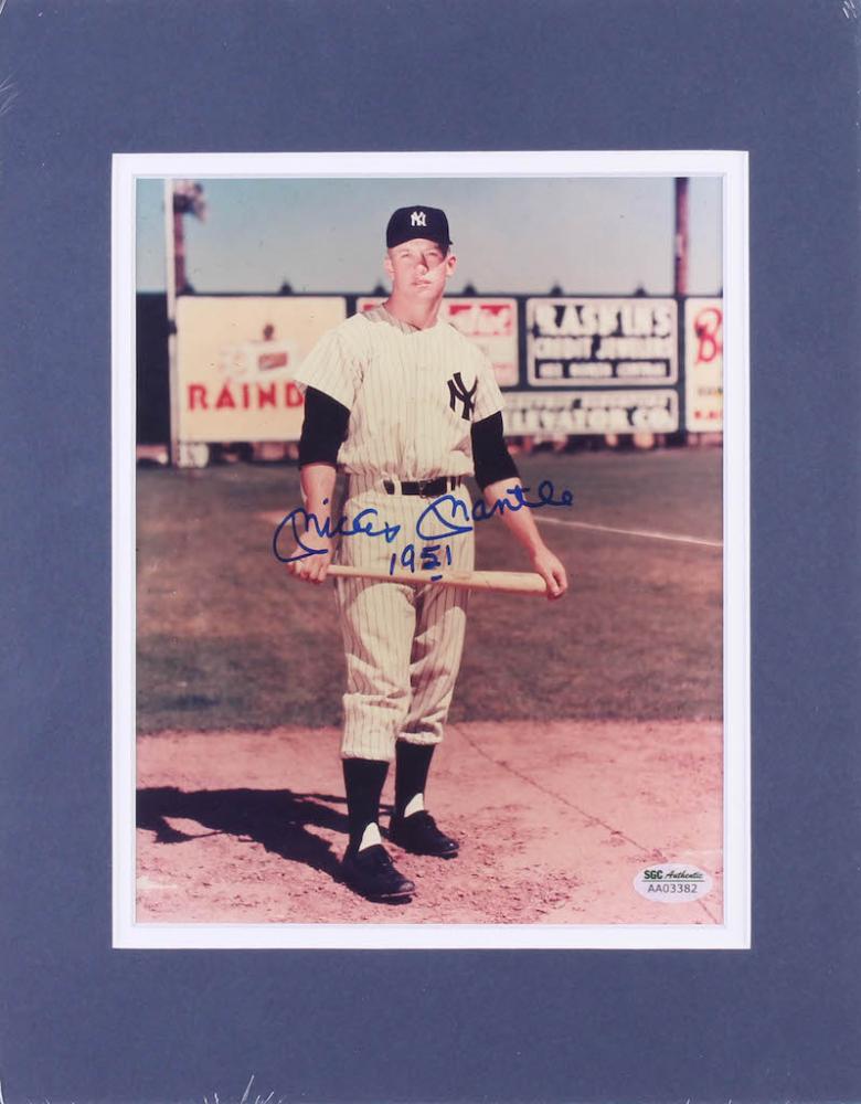 1951 Exhibit Card Poster Baseball Wrestling Mantle