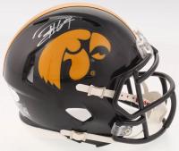Jaleel Johnson Signed Iowa Hawkeyes Speed Mini Helmet (JSA COA) at PristineAuction.com