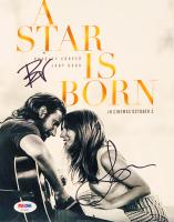 "Lady Gaga & Bradley Cooper Signed ""A Star Is Born"" 8x10 Photo (PSA LOA)"