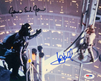 "Mark Hamill & James Earl Jones Signed ""Star Wars"" 8x10 Photo (PSA LOA)"