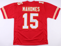 Patrick Mahomes Signed Kansas City Chiefs Jersey (JSA COA)