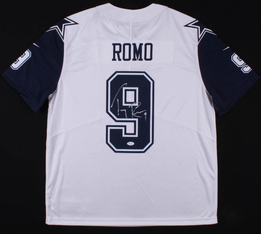 6cc146124 Tony Romo Signed Dallas Cowboys Nike Jersey (JSA COA) at PristineAuction.com