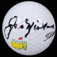Jack Nicklaus Signed Masters Logo Golf Ball (JSA ALOA)