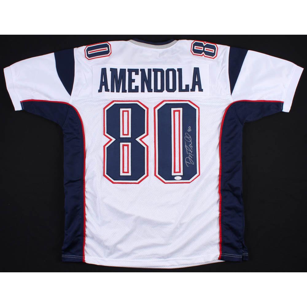 da9edf67 Danny Amendola Signed New England Patriots Jersey (JSA LOA)