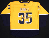 Pekka Rinne Signed Nashville Predators Adidas Jersey (Beckett COA)