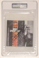 "Bruce Springsteen Signed ""The Rising"" CD Cover (PSA Encapsulated) at PristineAuction.com"