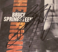 """Bruce Springsteen Signed """"The Rising"""" CD Cover (PSA Encapsulated) at PristineAuction.com"""