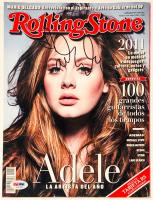 Adele Signed 2012 Rolling Stone Magazine (PSA LOA) at PristineAuction.com