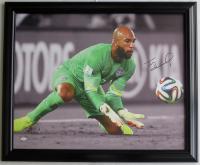 Tim Howard Signed Team USA 28x34 Custom Framed Canvas Display (JSA COA)