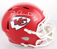 """Patrick Mahomes Signed Kansas City Chiefs Full-Size Speed Helmet Inscribed """"18 MVP"""" (JSA COA)"""