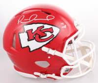 "Patrick Mahomes Signed Kansas City Chiefs Full-Size Auhentic On-Field Speed Helmet Inscribed ""18 MVP"" (JSA COA)"
