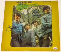 """More of the Monkees"" Vinyl Album Cover Signed by (4) With Peter Tork, Davy Jones, Michael Nesmith & Mickey Dolenz (PSA LOA) at PristineAuction.com"