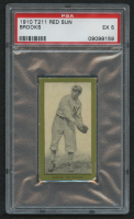 1910 Red Sun T211 #64 Brooks (PSA 5) at PristineAuction.com
