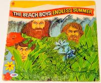 "Al Jardine & Brian Wilson Signed ""Endless Summer"" Vinyl Album Cover (PSA LOA) at PristineAuction.com"