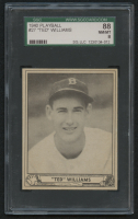 1940 Play Ball #27 Ted Williams (SGC 8)