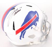 Josh Allen Signed Buffalo Bills Full-Size Speed Helmet (JSA COA)