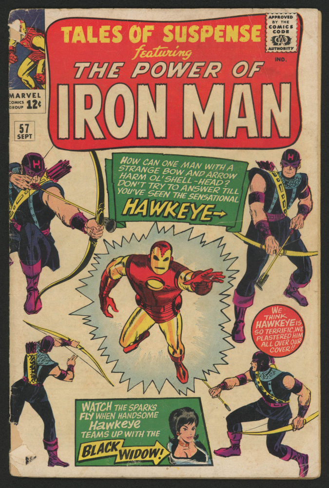 """1964 """"Tales of Suspense"""" Issue #57 Marvel Comic Book at PristineAuction.com"""