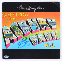 "Bruce Springsteen Signed ""Greetings from Ashbury Park"" Vinyl Record Album Cover (Beckett LOA) at PristineAuction.com"