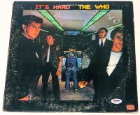 "Pete Townshend Signed ""It's Hard"" Vinyl Album Cover (PSA COA) at PristineAuction.com"