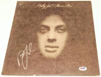 "Billy Joel Signed ""Piano Man"" Vinyl Album Cover (PSA COA) at PristineAuction.com"