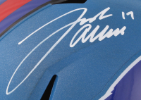 Josh Allen Signed Buffalo Bills Full-Size Speed Helmet (JSA COA) at PristineAuction.com