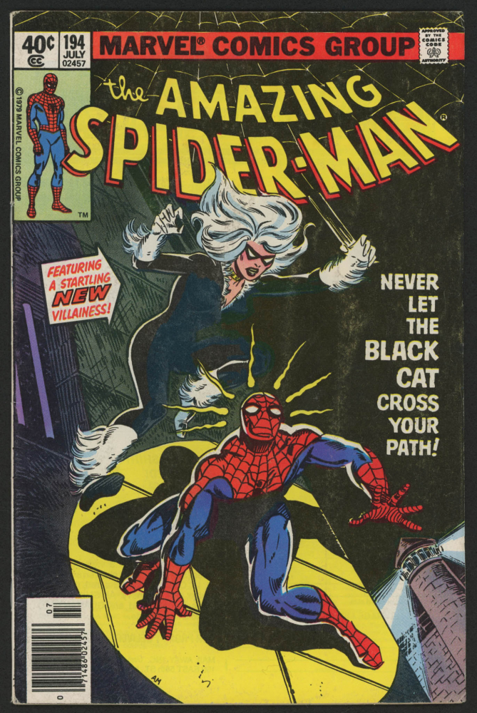 "1979 ""The Amazing Spider-Man"" Issue #194 Marvel Comic Book at PristineAuction.com"