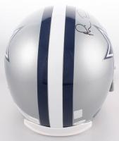 Troy Aikman, Emmitt Smith & Michael Irvin Signed Dallas Cowboys Full-Size Helmet (JSA COA, PROVA Hologram & Aikman Hologram) at PristineAuction.com