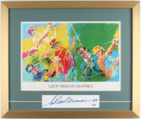 "LeRoy Neiman Signed 18x21.5 Custom Framed Cut Display Inscribed ""'03"" (PSA COA) at PristineAuction.com"