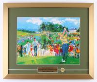 "LeRoy Neiman ""April at Augusta"" 18x21.5 Custom Framed Print Display"