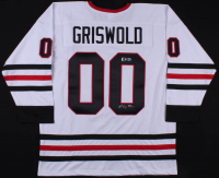 """Chevy Chase Signed """"National Lampoon's Christmas Vacation"""" Hockey Jersey (Beckett COA & Chase Hologram)"""