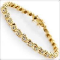 0.71 CT Diamond Designer Elegant Bracelet