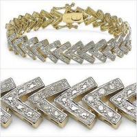 0.93 CT Diamond Designer Elegant Bracelet