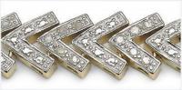 0.93 CT Diamond Designer Elegant Bracelet at PristineAuction.com