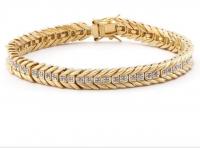 0.88 CT Diamond Designer Elegant Bracelet
