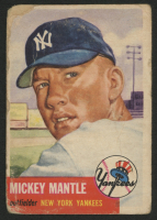 1953 Topps #82 Mickey Mantle