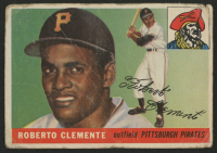 1955 Topps #164 Roberto Clemente RC