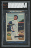 1951 Bowman #165 Ted Williams (BVG 8)