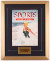Original Third Issue Sports Illustrated 15.5x19 Custom Framed Magazine