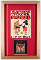 Vintage 1950's Walt Disney's Mickey Mouse 13.5x20 Custom Framed Film Reel Display