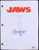 """Richard Dreyfuss Signed """"Jaws"""" Full Script (Beckett COA)"""