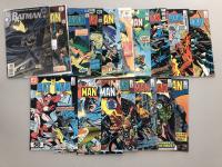 Lot of (17) 1976-86 DC Batman Comic Books